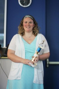 Andrea Lovan selected as the top MCDM student for Innovation.