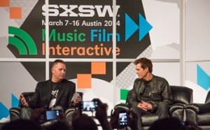 Kevin Bacon talks with Brian Turtle Photo by Carolyn Higgins