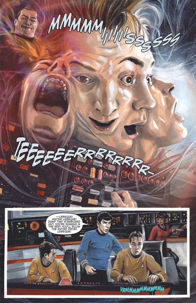 IDW's Star Trek: Harlan Ellison's City on the Edge of Forever - Art by JK Woodward