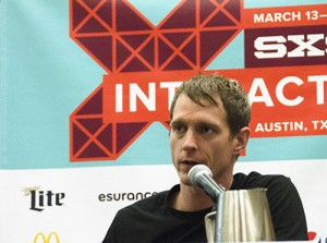 Colin O'Donnell speaking at SXSW