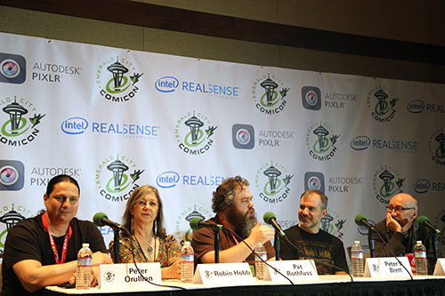 Panelists at ECCC 2015