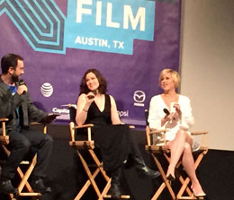 Allie Sheedy and Molly Ringwald at SXSW